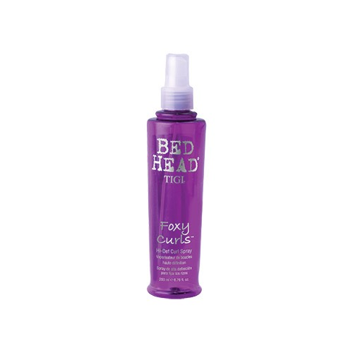 tigi bed head foxy curls hi def curl spray 200ml ebay. Black Bedroom Furniture Sets. Home Design Ideas