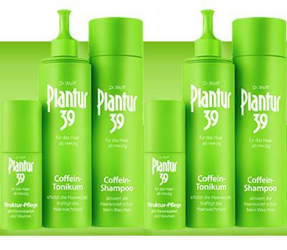 Plantur 39 - 6tlg Coffein Set gegen Haarausfall Alpecin