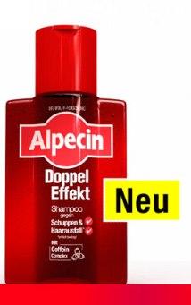 Alpecin - Doppel Effekt Shampoo 200ml gegen Haarausfall