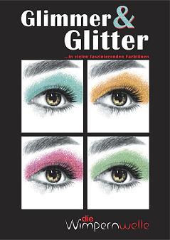 Die Wimpernwelle  Glitter & Glimmer Lidschatten 20 Töne