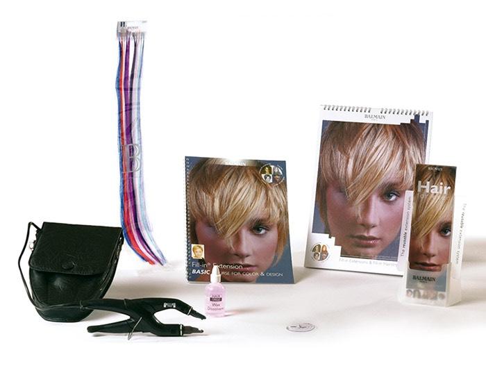 Balmain Haarverlängerung Set (Extensions / Bondings)