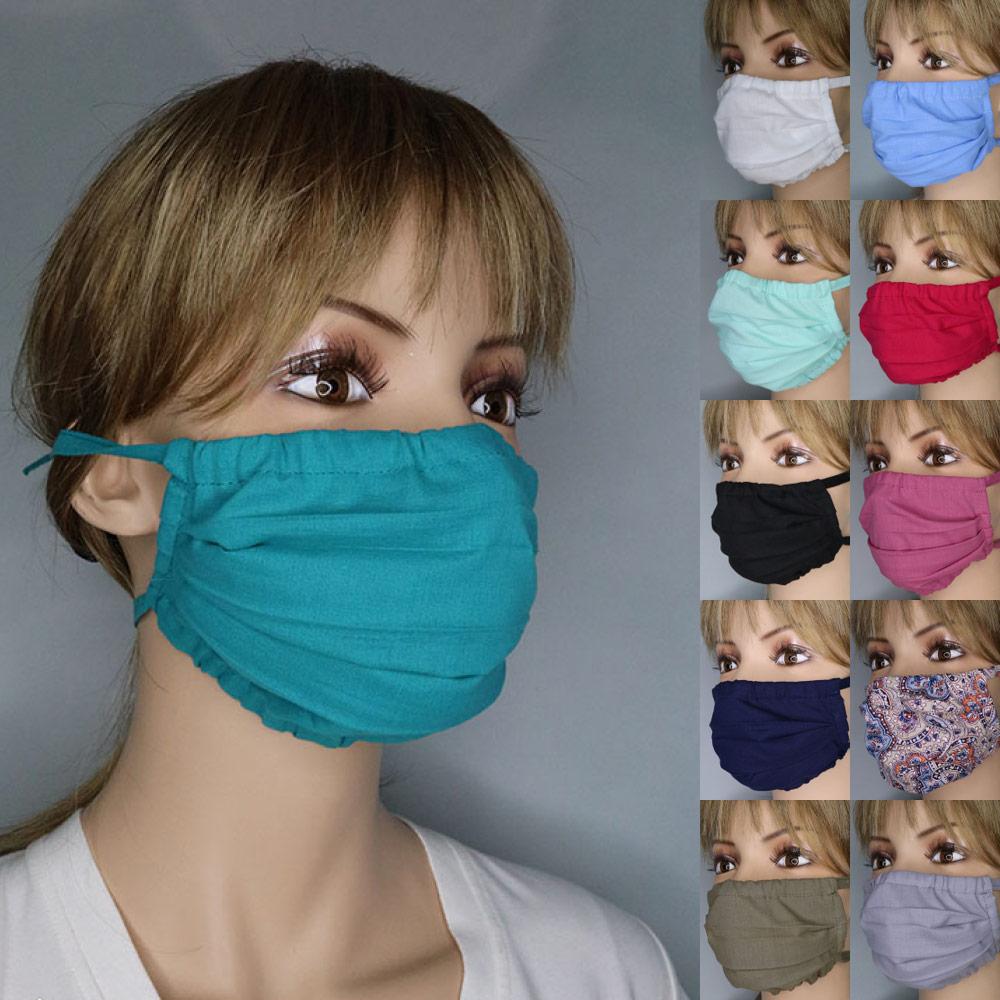 Mund- & Nase Maske, Alltagsmaske, Gesichtsmaske verschiedene Farben