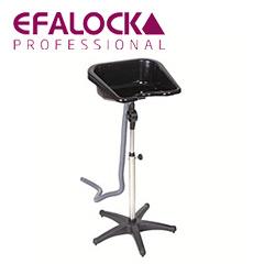 Efalock Mobiles Rückwärtswaschbecken flach - höhenverstellbar und kippbar