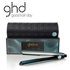 ghd glacial blue gold Styler 2018 mit Etui Glätteisen Haarglätter + ghd Spray