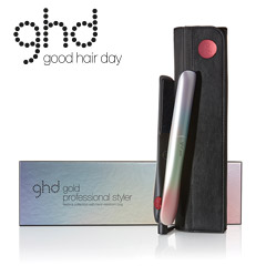 ghd festival gold Styler mit Etui + ghd Heat Protect Spray