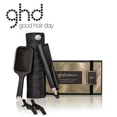 ghd Geschenkset platinum+ Styler  +Etui +Paddle Brush +Clipse +ghd Spray