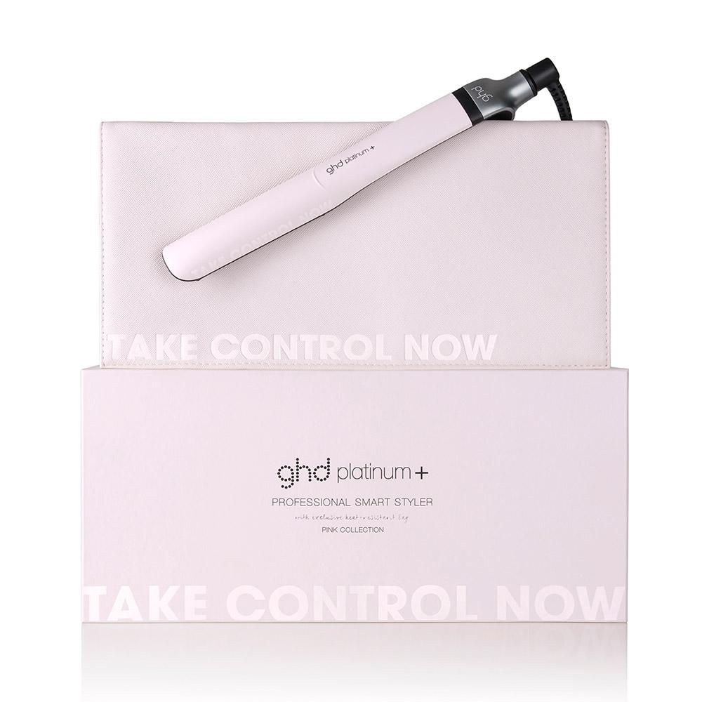 ghd powder pink Platinum+ Styler