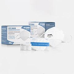 HYGISUN Mundschutz FFP2 Maske FFP 2 Atemschutzmaske Gesichtsmaske 1 Stück