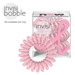 Invisibobble - Haargummi Haarabbinder Telefonhaargummi pink Power Breast Cancer