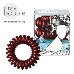 Invisibobble - Haargummi Haarabbinder Arround the World Burgundy Dream