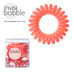 Invisibobble - Haargummi Haarabbinder Wild Whisper Fancy Flamingo orange