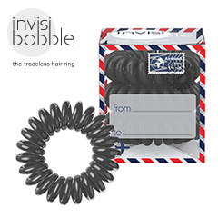 Invisibobble - Haargummi Haarabbinder Arround the World Letter from Grey