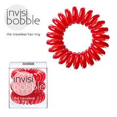 Invisibobble - Haargummi Haarabbinder Telefonhaargummi Original Raspberry Red