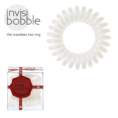 Invisibobble - Haargummi Haarabbinder Telefonhaargummi  - with love Snow Pearl