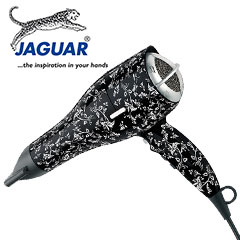 Jaguar Fön Haartrockner HD 3900 Silk Flower schwarz