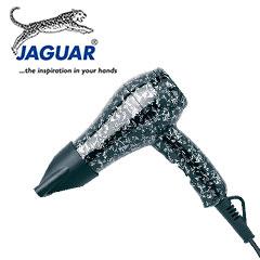 Jaguar MINI Fön Haartrockner Mini Silk Flower schwarz