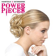 Power Pieces - Gin Haarabbinder lockig Haarteil