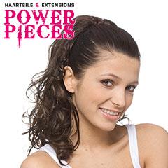 Power Pieces - Mojito Haarteil gewellt stufig ca. 45cm