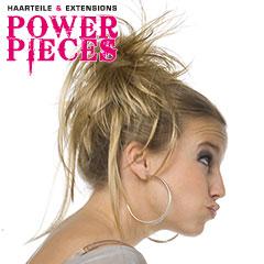 Power Pieces - Ouzo Haarabbinder glatt fransig Haarteil