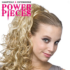 Power Pieces - Sangria Locken Haarteil Spange ca. 65cm