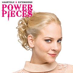 Power Pieces - Sherry Haarteil 10x6cm mit Clipsen 14cm