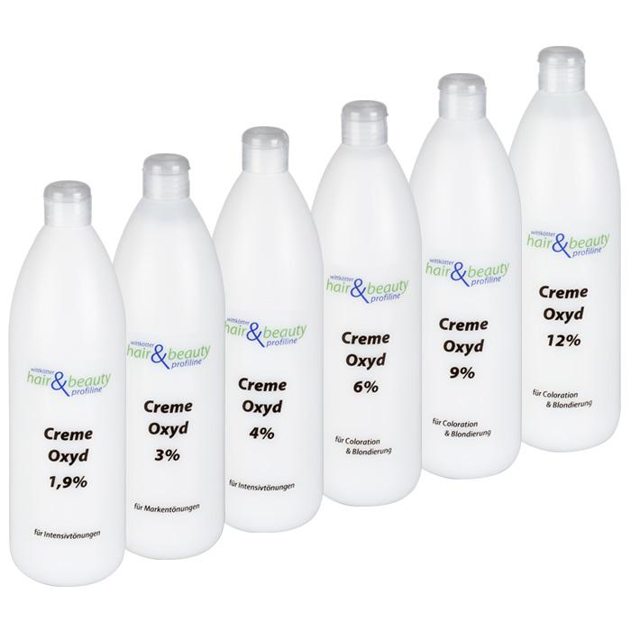 Creme Oxyd | Wasserstoff | H2O2 | versch Sorten 1 Liter