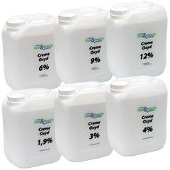 Creme Oxyd | Wasserstoff | H2O2 | versch Sorten 5 Liter