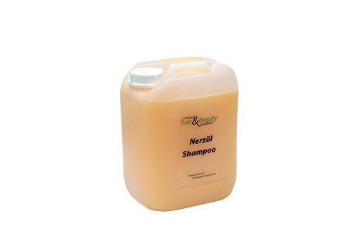 Profiline - Nerzöl Shampoo für strapaziertes Haar 5 Ltr