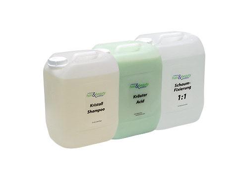 Profiline - Kristall Shampoo | Kräuter Acid | Schaum Fixierung 10 L