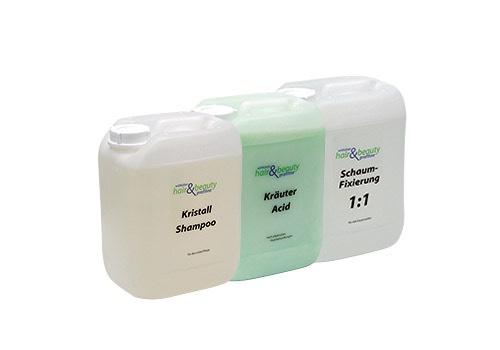 Profiline - Kristall Shampoo | Kräuter Acid | Schaum Fixierung 5 L.