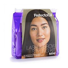 Refectocil Lash & Brow Styling Kit Mini DAS Einsteigerset mit Farbe und Zubehör
