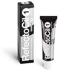 RefectoCil Augenbrauenfarbe und Wimpernfarbe 15 ml Tiefschwarz 1
