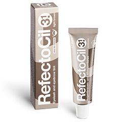 RefectoCil Augenbrauenfarbe und Wimpernfarbe 15 ml Lichtbraun 3.1