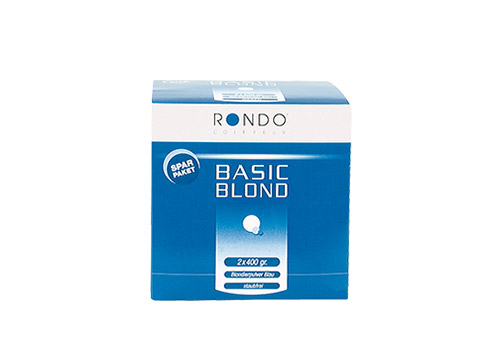 Rondo Basic Blond Blondierung 2 x 400gr