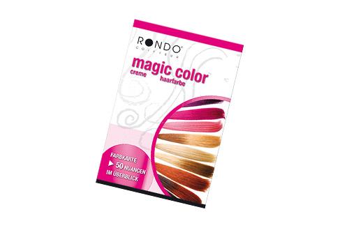 Rondo Magic-Color Farbkarte