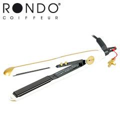 Rondo Mini Haarglätter gold/weiß Glätteisen Tourmaline