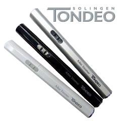 Tondeo Mini-Trimmer Ohren& Nasenhaarschneider Hairliner silber 3195